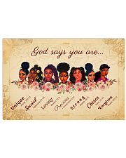 CV10017 - God Says You Are 17x11 Poster front