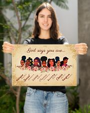 CV10017 - God Says You Are 17x11 Poster poster-landscape-17x11-lifestyle-19