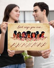 CV10017 - God Says You Are 17x11 Poster poster-landscape-17x11-lifestyle-20