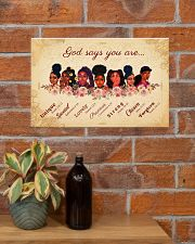 CV10017 - God Says You Are 17x11 Poster poster-landscape-17x11-lifestyle-23