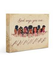 CV10017 - God Says You Are Gallery Wrapped Canvas Prints tile