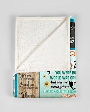 """FBC10015 - Daughter You Were Made for This Small Fleece Blanket - 30"""" x 40"""" aos-coral-fleece-blanket-30x40-lifestyle-front-17"""