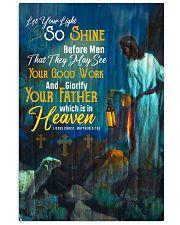 JES10020PT - Jesus Christ Let Your Light So Shine 11x17 Poster front