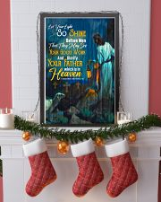 JES10020PT - Jesus Christ Let Your Light So Shine 11x17 Poster lifestyle-holiday-poster-4