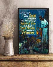JES10020PT - Jesus Christ Let Your Light So Shine 11x17 Poster lifestyle-poster-3