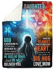 Jes10090 - God Is Never Blind To Your Tears Sherpa Fleece Blanket tile