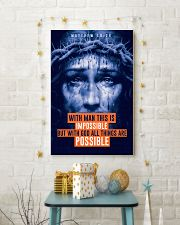 JES10013PT - Jesus Christ All Thing Are Possible 11x17 Poster lifestyle-holiday-poster-3