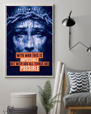 JES10013PT - Jesus Christ All Thing Are Possible 11x17 Poster lifestyle-poster-1