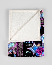 """FAM10118BL - To My Mom I'm So Grateful Daughter Small Fleece Blanket - 30"""" x 40"""" aos-coral-fleece-blanket-30x40-lifestyle-front-17"""