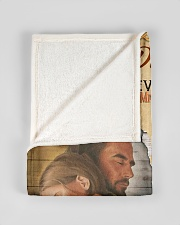"""JES10063BL - Daughter Choose The Beauty Small Fleece Blanket - 30"""" x 40"""" aos-coral-fleece-blanket-30x40-lifestyle-front-17"""