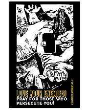 JES10009PT - Jesus Christ Love Your Enemies 11x17 Poster front