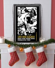 JES10009PT - Jesus Christ Love Your Enemies 11x17 Poster lifestyle-holiday-poster-4