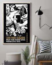 JES10009PT - Jesus Christ Love Your Enemies 11x17 Poster lifestyle-poster-1
