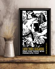 JES10009PT - Jesus Christ Love Your Enemies 11x17 Poster lifestyle-poster-3
