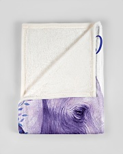 """BL10019 - Beloved Daughter Elephant 2 Small Fleece Blanket - 30"""" x 40"""" aos-coral-fleece-blanket-30x40-lifestyle-front-17"""
