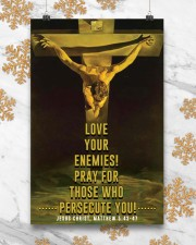 JES10001PT - Jesus Christ Love Your Enemies 11x17 Poster aos-poster-portrait-11x17-lifestyle-25