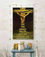 JES10001PT - Jesus Christ Love Your Enemies 11x17 Poster lifestyle-holiday-poster-3