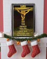JES10001PT - Jesus Christ Love Your Enemies 11x17 Poster lifestyle-holiday-poster-4