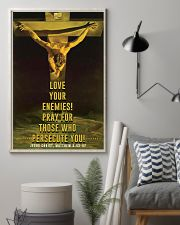 JES10001PT - Jesus Christ Love Your Enemies 11x17 Poster lifestyle-poster-1