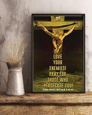 JES10001PT - Jesus Christ Love Your Enemies 11x17 Poster lifestyle-poster-3