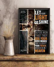JES10017PT - Jesus Christ Let Your Light So Shine 11x17 Poster lifestyle-poster-3