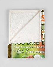 """BL10085 - To My Husband You Are The World Small Fleece Blanket - 30"""" x 40"""" aos-coral-fleece-blanket-30x40-lifestyle-front-17"""