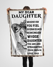 "FBC10021 - Lion Daughter Small Fleece Blanket - 30"" x 40"" aos-coral-fleece-blanket-30x40-lifestyle-front-14"