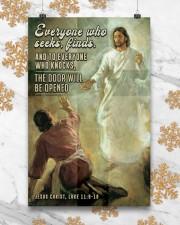 JES10029PT - Jesus Christ Everyone Who Seeks 11x17 Poster aos-poster-portrait-11x17-lifestyle-25