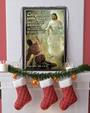 JES10029PT - Jesus Christ Everyone Who Seeks 11x17 Poster lifestyle-holiday-poster-4
