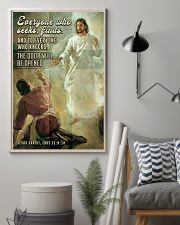 JES10029PT - Jesus Christ Everyone Who Seeks 11x17 Poster lifestyle-poster-1