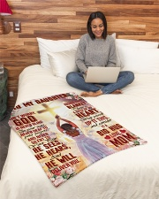 """Jes10086 - God Is Never Blind To Your Tears Small Fleece Blanket - 30"""" x 40"""" aos-coral-fleece-blanket-30x40-lifestyle-front-08"""