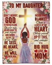 """Jes10086 - God Is Never Blind To Your Tears Small Fleece Blanket - 30"""" x 40"""" front"""