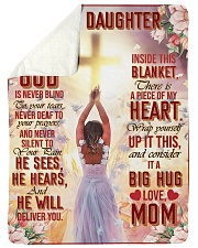 Jes10086 - God Is Never Blind To Your Tears Sherpa Fleece Blanket tile