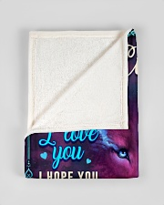 """BL10056N - To My Evelyn Dad Letter Small Fleece Blanket - 30"""" x 40"""" aos-coral-fleece-blanket-30x40-lifestyle-front-17"""