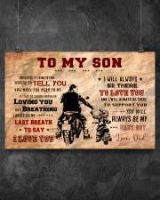 CV10004 - To My Son Motor 17x11 Poster aos-poster-landscape-17x11-lifestyle-12