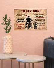 CV10004 - To My Son Motor 17x11 Poster poster-landscape-17x11-lifestyle-21