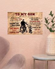 CV10004 - To My Son Motor 17x11 Poster poster-landscape-17x11-lifestyle-22