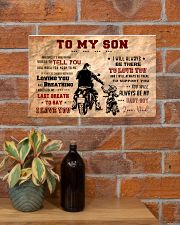 CV10004 - To My Son Motor 17x11 Poster poster-landscape-17x11-lifestyle-23