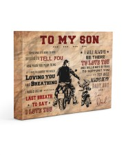 CV10004 - To My Son Motor Gallery Wrapped Canvas Prints tile