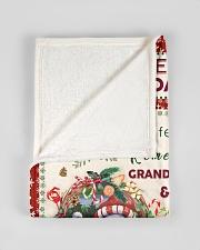 "BL10022 - Beloved Granddaughter Vintage Christmas Small Fleece Blanket - 30"" x 40"" aos-coral-fleece-blanket-30x40-lifestyle-front-17"