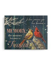 FAM10114CV - Memory Becomes A Treasure 14x11 Gallery Wrapped Canvas Prints aos-canvas-pgw-14x11-ghosted-front-02