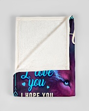 """BL10056N - To My Harper Dad Letter Small Fleece Blanket - 30"""" x 40"""" aos-coral-fleece-blanket-30x40-lifestyle-front-17"""