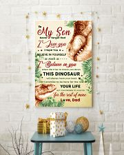 CV10022 - To My Son Dinosaur Never Forget 11x17 Poster lifestyle-holiday-poster-3
