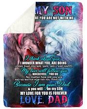 BL10101 - You Will Be My Son Sherpa Fleece Blanket tile