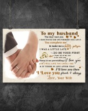 CV10001-1 - To Husband Forever Always 17x11 Poster aos-poster-landscape-17x11-lifestyle-12
