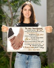 CV10001-1 - To Husband Forever Always 17x11 Poster poster-landscape-17x11-lifestyle-19