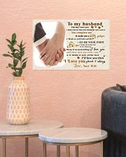 CV10001-1 - To Husband Forever Always 17x11 Poster poster-landscape-17x11-lifestyle-21
