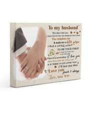 CV10001-1 - To Husband Forever Always Gallery Wrapped Canvas Prints tile