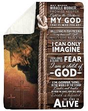 JES10104 - Jesus Way Maker Miracle Worker Sherpa Fleece Blanket tile