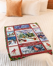"""BL10005 - Cardinals Angels Christmas Small Fleece Blanket - 30"""" x 40"""" aos-coral-fleece-blanket-30x40-lifestyle-front-01"""